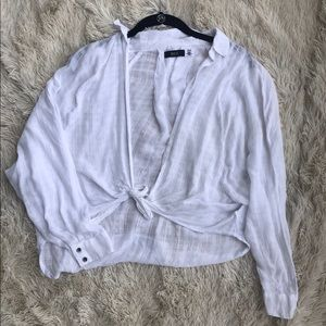 Urban outfitters White Tie Top